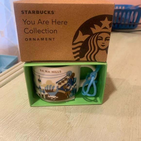 Starbucks Ba Na Hills You Are Here Series Ornament